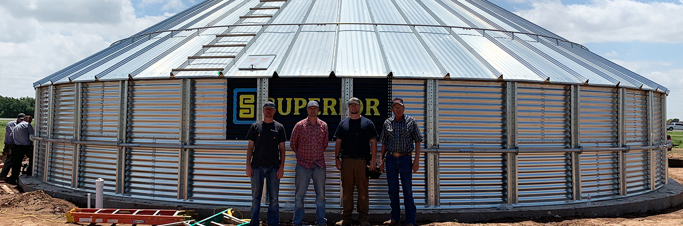 Grain Bins | Wall Farm Equipment | Colony, OK | Locally